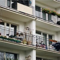 Blockages on the balcony?